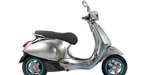 Vespa presenta su primera moto eléctrica