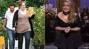 El antes y después de Adele con la dieta Sirtfood: así ha adelgazado pudiendo tomar vino o chocolate