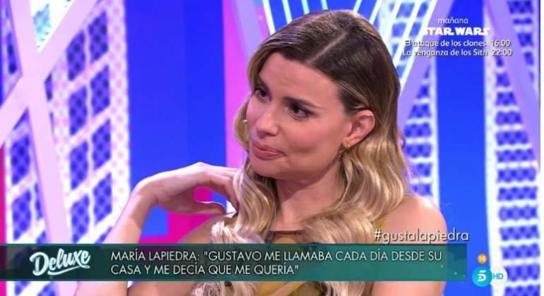 María Lapiedra se sincera: Cuando llegue a casa mi marido ya no estará