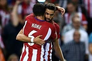 Con golazo de Carrasco, Atlético vence al Bayern