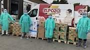 Donacin de material por parte de ElPozo Alimentacin