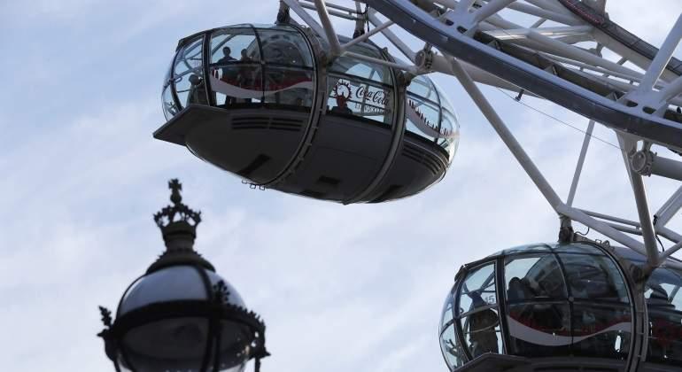 Hay gente atrapada en el London Eye