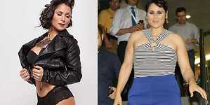 Rosa López vive sin complejos su incremento de peso