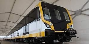 Presentan el primer tren automático que se usará en la Línea 2 del Metro de Lima
