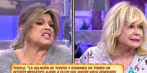 Terelu se enfrenta a Mila al dar la cara por Bigote