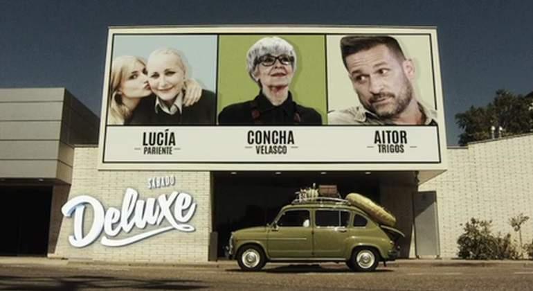 Concha Velasco, Lucía Pariente y Aitor Trigos se sientan en Sábado Deluxe