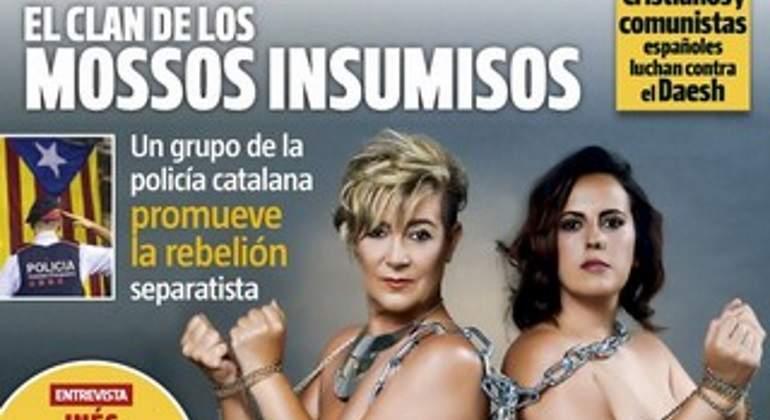 Toñi y Rebeca, víctimas de las prácticas de los bancos, desnudas en Interviú