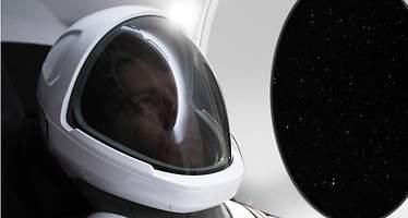 Elon Musk desvela el primer traje de astronauta de SpaceX