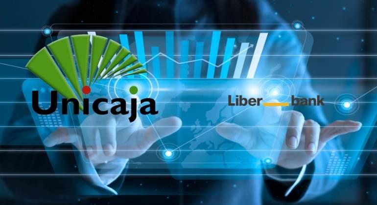 La fusión Unicaja-Liberbank implicaría un ajuste de hasta 2.452 empleos