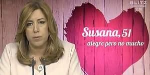 Susana Díaz, plantada en First Dates