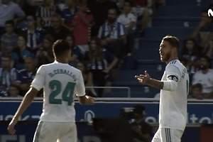 La bronca de Sergio Ramos a Ceballos
