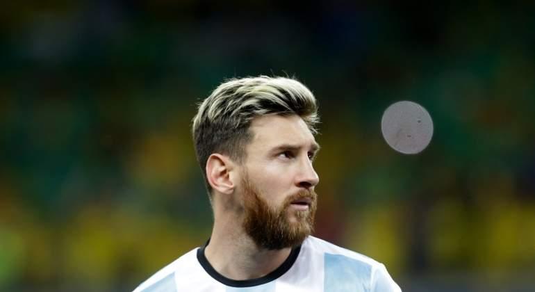 Leo Messi se defiende: Insulté al aire
