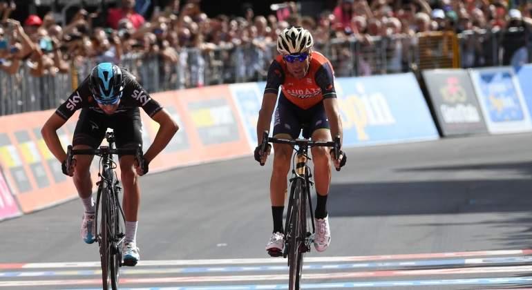 Alberto Contador se hunde en el inicio de la montaña de La Vuelta; Nibali gana y Froome es el nuevo líder