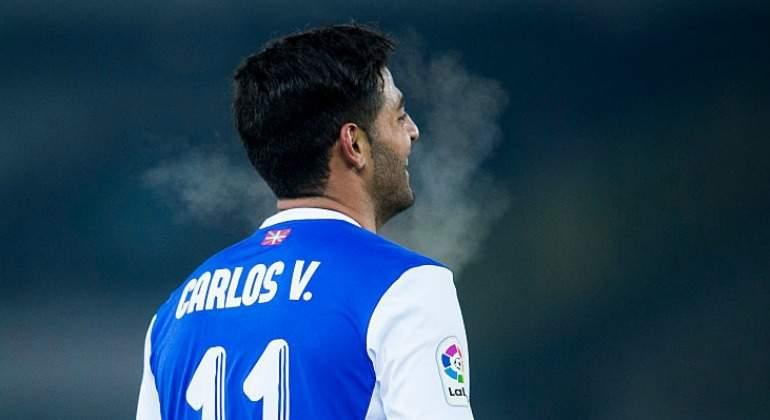 Carlos Vela con ilusión de jugar en Europa League