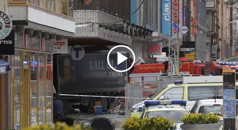 Detenido por atentado en Estocolmo reconoce autoría