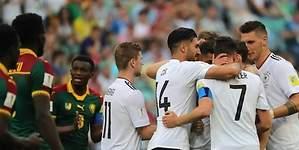 Alemania derrota a Camerún y jugará ante el Tri en semis