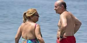 Carmen Borrego y su marido, sin complejos