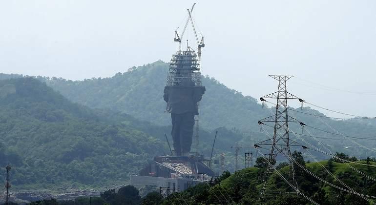 Resultado de imagen para estatua india Sardar Patel