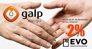 Evo devolverá a sus clientes un 2% de cualquier compra realizada en las gasolineras Galp
