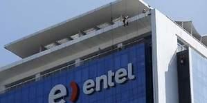 Utilidades de Entel cayeron 65% en primer semestre, por pérdidas entre abril y junio