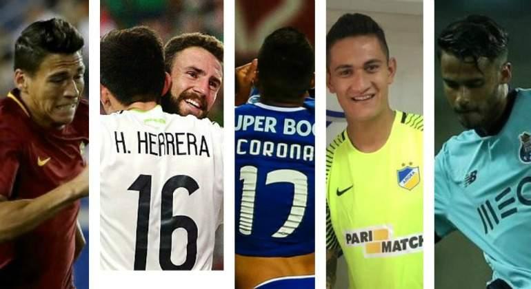 Entérate quienes son los siete mexicanos inscritos para la próxima Champions League