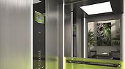 Un ascensor de la empresa Zardoya Otis