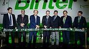 Inauguracin de la ruta de la aerolnea Binter a Vitoria