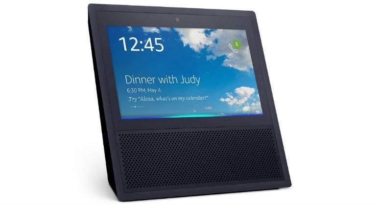 Amazon lanza Eco Show, una bocina inteligente con pantalla