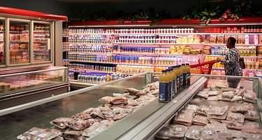 Los supermercados de Venezuela están llenos de alimentos... pero no de los que quiere la gente