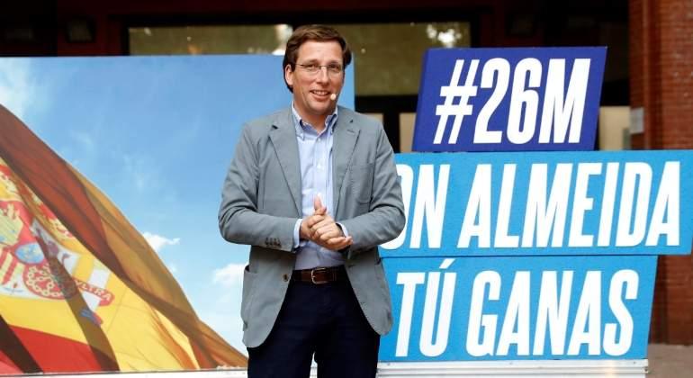 10b2938484 El PP de Almeida recupera la Alcaldía de Madrid y deja a Carmena fuera