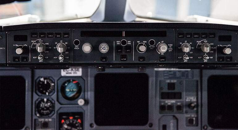 HUD-de-un-Airbus. Wikimedia Commons