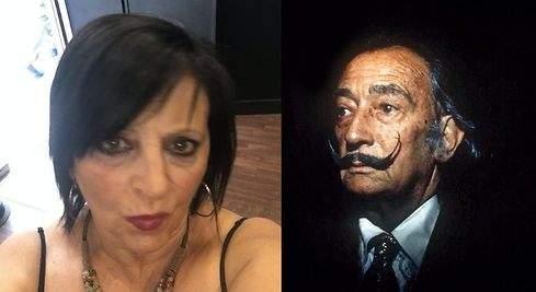 Familiares de Dalí encuentran parecidos entre Pilar Abel, su presunta hija, y el genio de Figueres