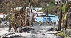 María deja 32 muertos a su paso por el Caribe