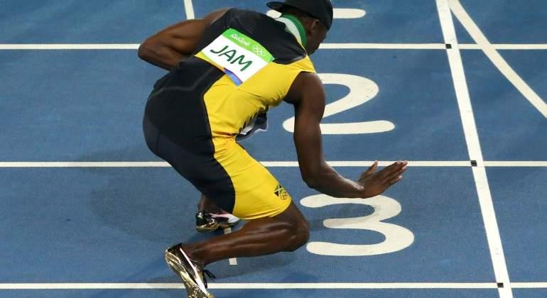 Pagan 16.000 euros por una zapatilla que Usain Bolt usó en 2015