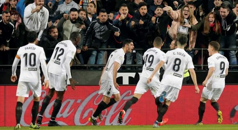 11cee935f El Valencia se sube de lleno a la Champions a costa de un flojo Real Madrid  que …