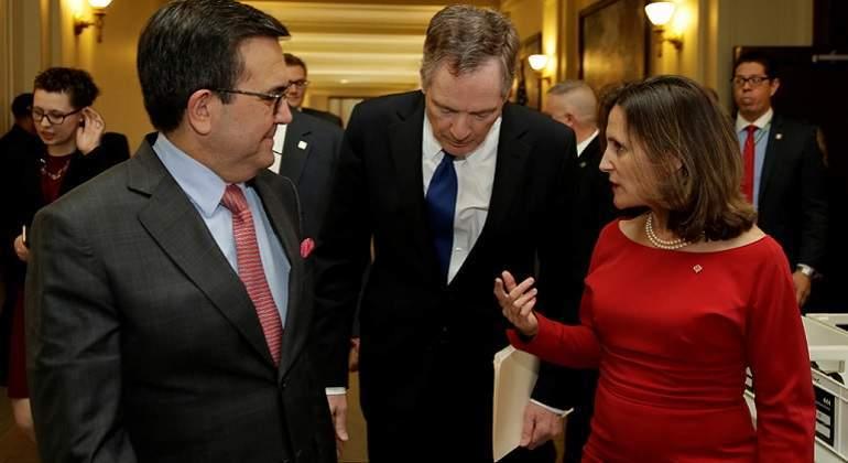 EU ve avances en renegociación del TLC con México