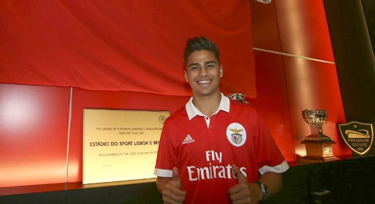 Benfica fichó a Paolo Medina, procendente del Real Madrid