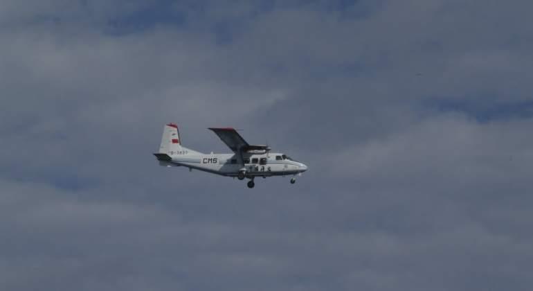 Unos cazas chinos interceptan un avión militar de EEUU