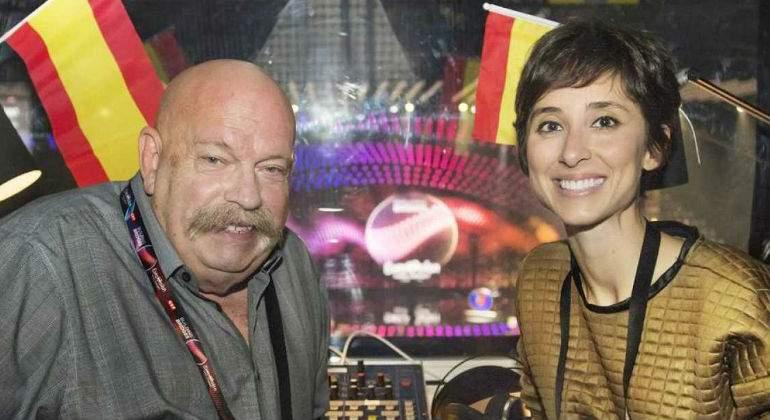 Fue la voz de Eurovisión: Tony Aguilar coge su relevo este año
