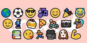 Tinder desvela los 20 emojis más usados por los españoles en su perfil