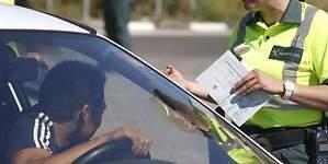 Las principales causas de las multas a los conductores en verano