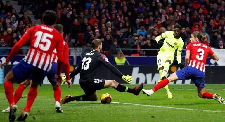 Dembélé le birla el liderato al Atlético de Madrid con un gol en el minuto  90 0c66bced7bee5