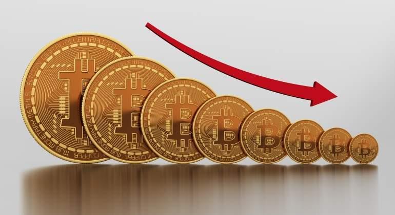Bitcoin extiende pérdidas y retrocede más 10% en el día