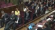 Los acusados del procés apelan a una salida política del conflicto catalán en su alegato final en el juicio