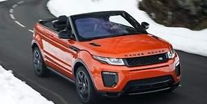 Range Rover Evoque Convertible: los descapotables no son solo para el verano