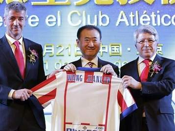 El grupo Wanda intentará comprar este fin de semana el Atlético por 220 millones