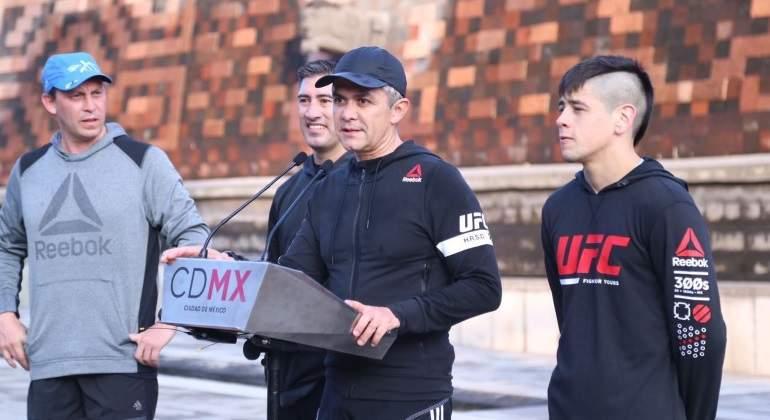 Tijuanense Moreno lamenta revés en función de regreso de UFC a México