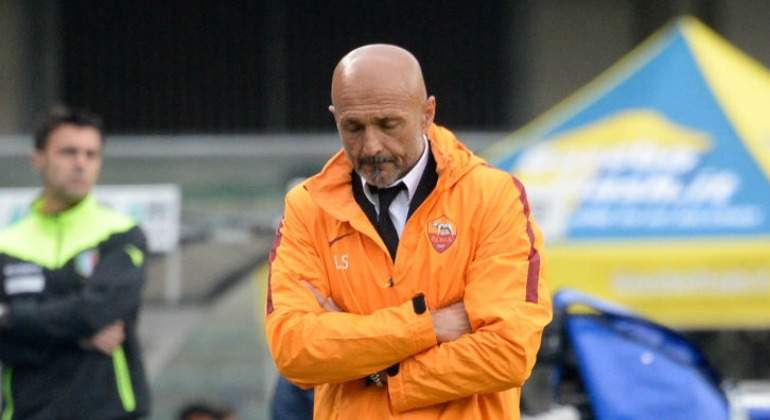 Luciano Spalletti deja el AS Roma