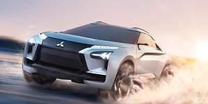 Mitsubishi e-Evolution concept: un SUV eléctrico para reinventarse