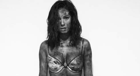 Blanca Suárez: su baño de barro sorprende en la red
